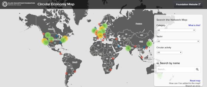 circular economy map